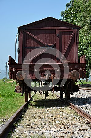 Free Vintage Pakistan Railways Freight Car On Rails At Railway Museum Islamabad Stock Photography - 80589882