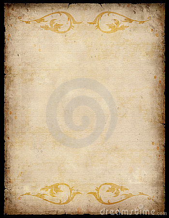 Vintage Paper Background with patterns