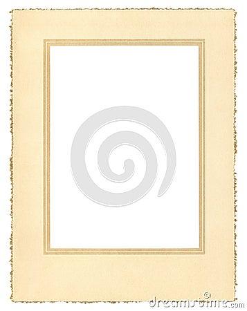 Vintage Paper Frame