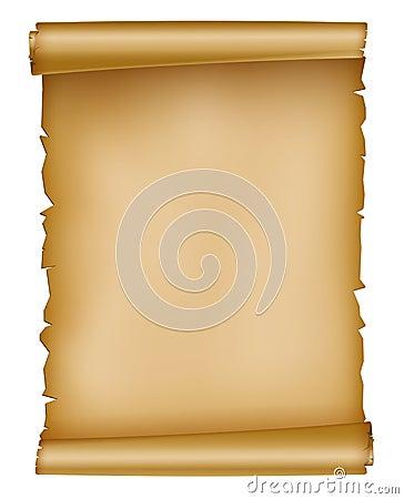 Vintage paper sheet