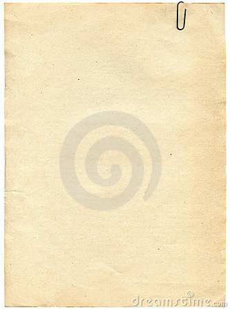 Vintage paper texture with clip to background
