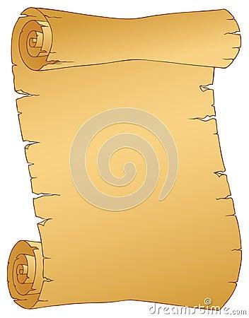 Vintage parchment image 1