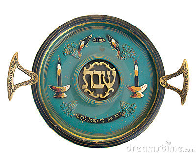 Vintage Passover Sabbath Seder Plate