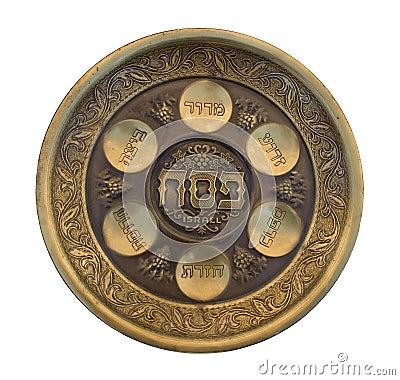 Vintage Passover Seder Plate