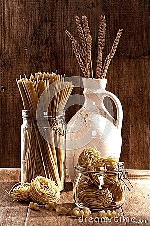 Free Vintage Pasta & Spaghetti Stock Image - 15998661