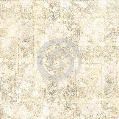 Free Vintage Pastel Grungy Flowers And Wood Grain Background Design Stock Photos - 47571503