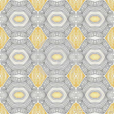 Vintage pattern, fifties sixties wallpaper design