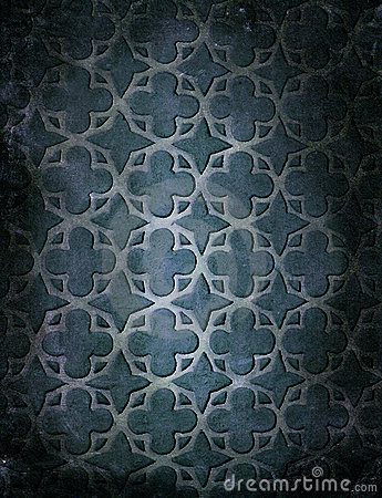 Vintage pattern shapes wallpaper