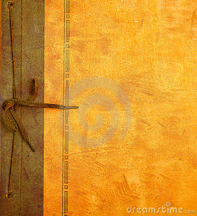 Vintage Photo Album Cover Stock Photo Image 3164730