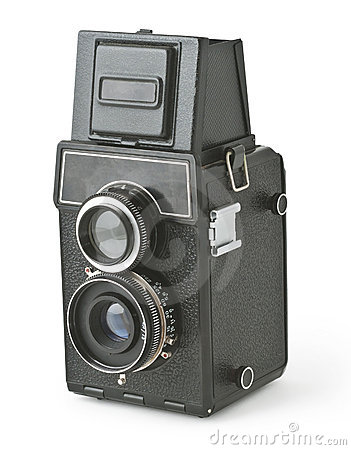 Free Vintage Photo Camera Stock Images - 18156004