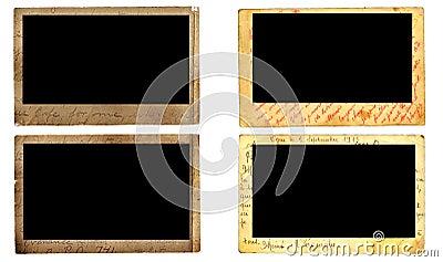 Vintage photo frames