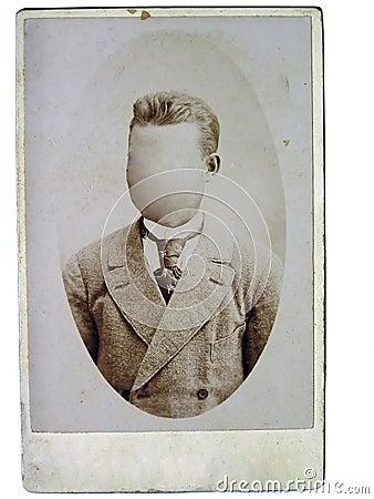 Free Vintage Photo Man Royalty Free Stock Photography - 6992837