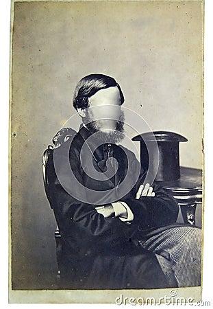 Free Vintage Photo Man Stock Photos - 6992893