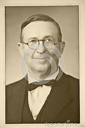 Free Vintage Photo Of Man Stock Photo - 9869840