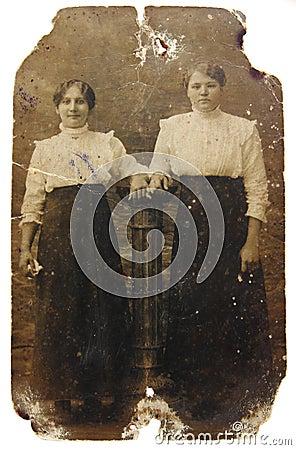 Free Vintage Photo Of Women Stock Photo - 17101690