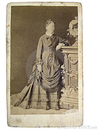 Vintage photo of women