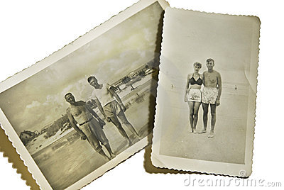Vintage Photos at the Beach