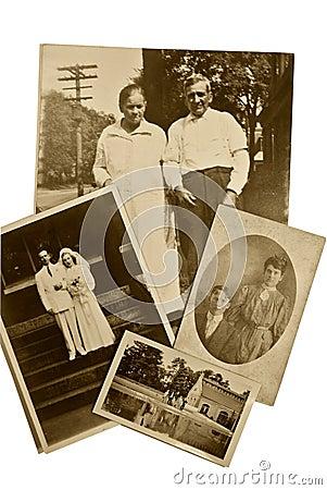 Free Vintage Photos Couples Royalty Free Stock Image - 10368626