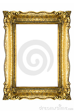 Free Vintage Picture Frame Royalty Free Stock Image - 4300616