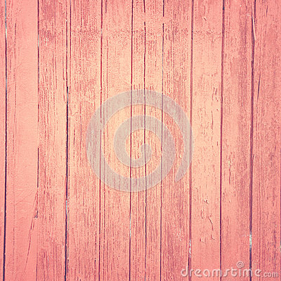 Vintage pink wood background