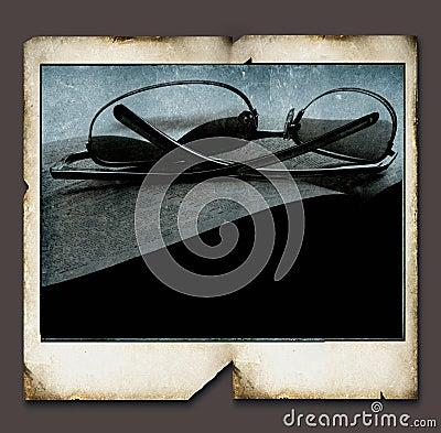 Vintage Polaroid frame