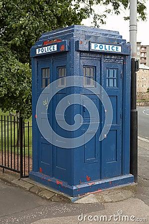 Vintage police box