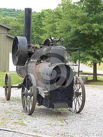 Free Vintage Portable Frick Steam Engine Stock Photography - 57379902