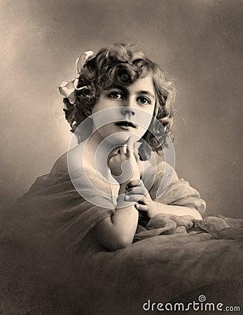 Free Vintage Portrait. Stock Images - 13959044