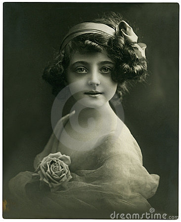 Free Vintage Portrait. Stock Photos - 7171203