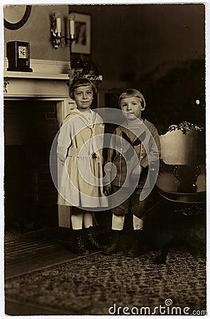 Vintage Portrait Circa 1922