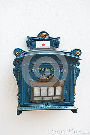 Vintage postbox Germany