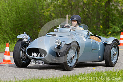 Vintage pre war race car BMW 328 Editorial Image
