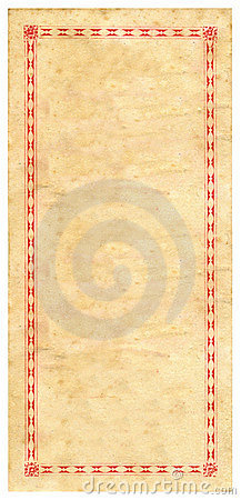 Vintage Prize Certificate Paper Texture Background