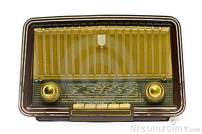 Vintage Radio Royalty Free Stock Photo - Image: 11992405