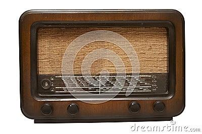 Vintage radio.