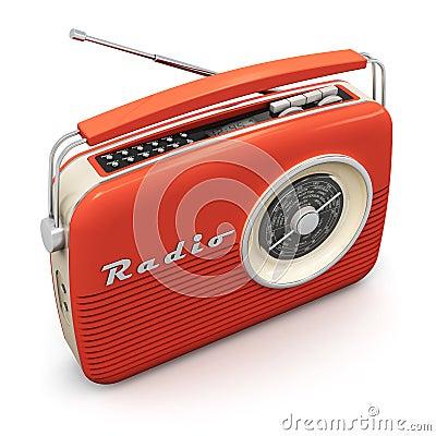 Free Vintage Radio Stock Image - 36916011
