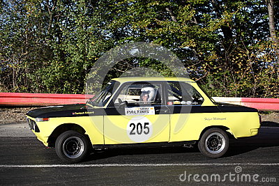 Vintage rally car Editorial Stock Image