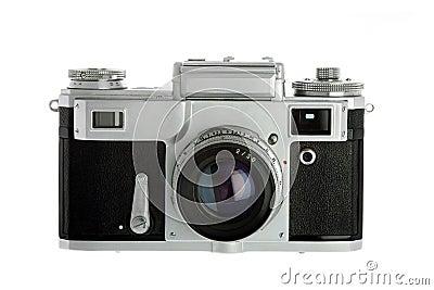 Vintage Rangefinder Camera