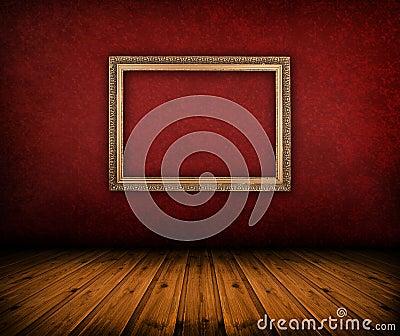 Vintage red room