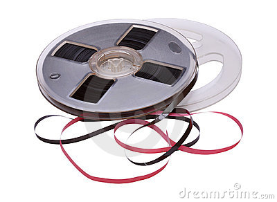 Vintage Reel of Audio Tape
