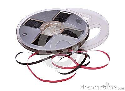 Vintage Reel of Audio Tape