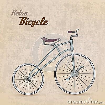 Vintage Retro Bicycle