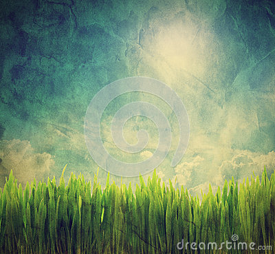 Free Vintage, Retro Image Of Nature Landscape Stock Photography - 30555992