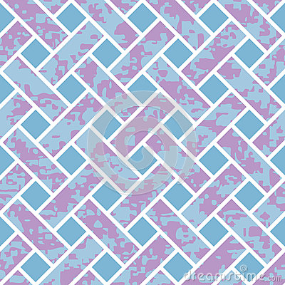 Seamless Basket Weave Background Pattern