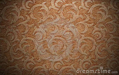 Vintage retro stylish carpet pattern background