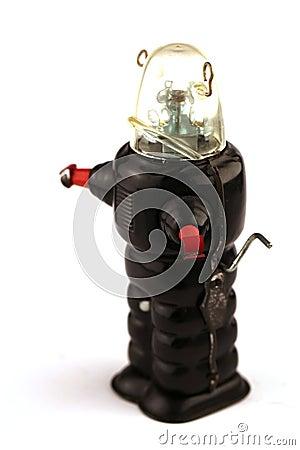 Free Vintage Robot Tin Toy Stock Photos - 43331113