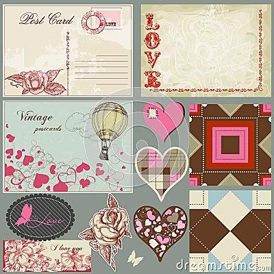 Free Vintage Romantic Set Stock Images - 22669544