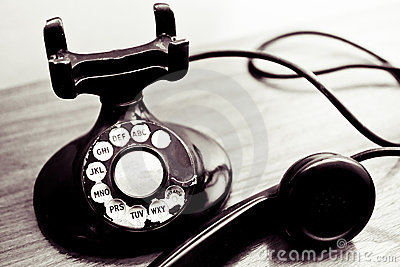 Vintage Rotary Dial Phone Stock Images - Image: 31299064