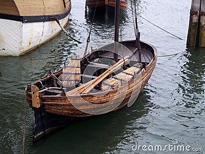 Vintage Row boat.