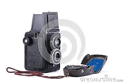 Vintage Russian TLR camera